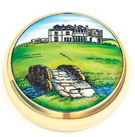 Staffordshire St. Andrews 18th Hole Paperweight