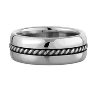 Scott Kay Braid Wedding Band