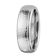Scott Kay Prime Wedding Band Hammered Metal