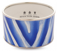 HALCYON DAYS BLUE ZEBRA CUFF