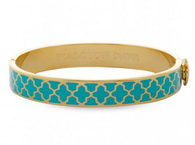 HALCYON DAYS AGAMA TURQUOISE & GOLD