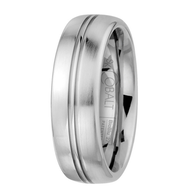 Scott Kay Prime Wedding Band Double Stripes