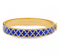 HALCYON DAYS AGAMA COBALT BLUE & GOLD
