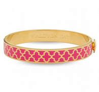 HALCYON DAYS AGAMA HOT PINK & GOLD