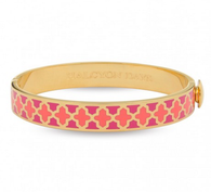HALCYON DAYS AGAMA HOT/LIGHT PINK & GOLD