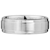 Scott Kay Prime Wedding Band Single Graded Edge Thick