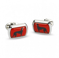 HALCYON DAYS EOS RECTANGULAR CUFFLINKS