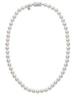 "Mikimoto 18"" Pearl Necklace"