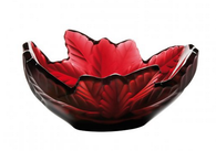 Lalique Red Compiegne Bowl
