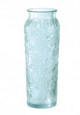 Lalique Blossom Vase (Blue)