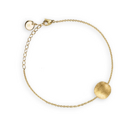 Marco Bicego Delicati Bracelet with 18k yellow gold single bead