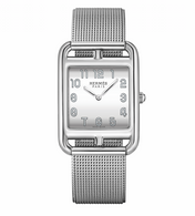Hermes Cape Cod stainless steel womens watch.