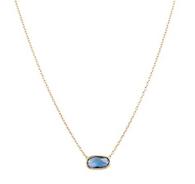 Marco Bicego Delicati Blue Topaz Pendant Necklace