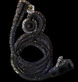 IMPACT OEM Style Swivel Earpiece for HYT 2-Pin TC508 TC610 TC580 Radios