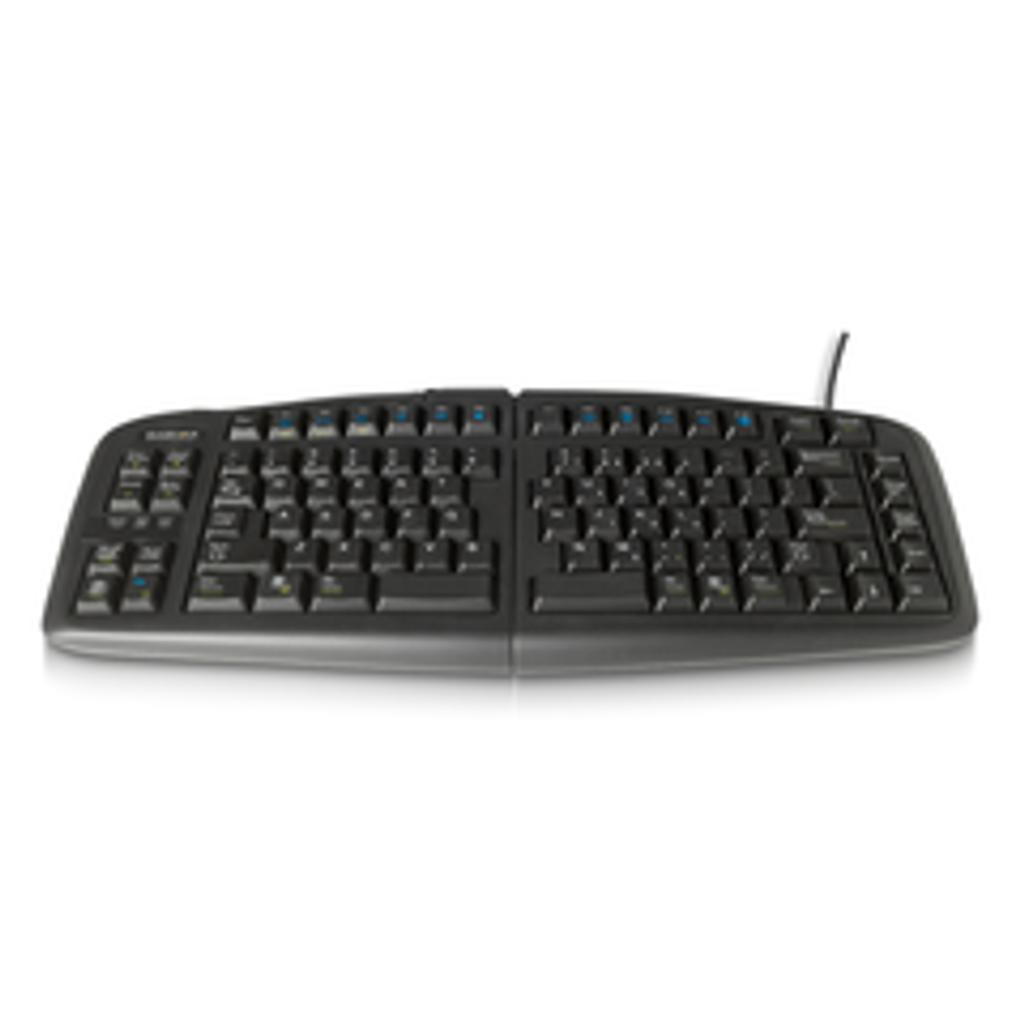 Goldtouch V2 Adjustable Keyboard & Comfort Mouse Bundle Keyboard Flat