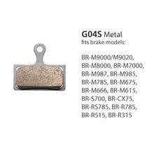 Shimano BR-M8000 Metal Pad & Spring G04S w/Split Pin