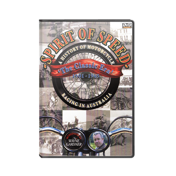 SPIRIT OF SPEED - A History of Motorcycle Racing in Australia DVD