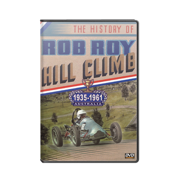 The History of ROB ROY Hill Climb DVD