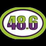 48.6 Dopey Challenge Car Magnet