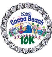 Cocoa Beach 2021 10K sneaker charm