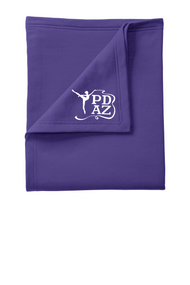 PRIMA DANCE PURPLE FLEECE SWEATSHIRT BLANKET