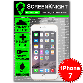 "Apple iPhone 7 / 4.7"" Tempered Glass Screen Protector - Military Shield"