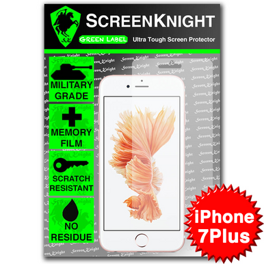 """Apple iPhone 7 Plus/ 5.5"""" Tempered Glass Screen Protector - Military Shield"""