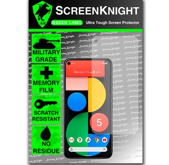 Screen Protector - For Google Pixel 5 FRONT-ScreenKnight Military shield