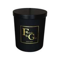 Elegant Large 50hr Matt Black (choose your scent)
