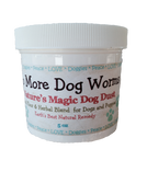 All Natural Dog De-Wormer and Wellness Powder for Dogs and Puppies