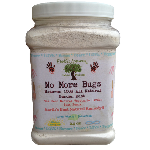 No More Bugs 100% Organic All Natural Vegetable Garden Pest Control