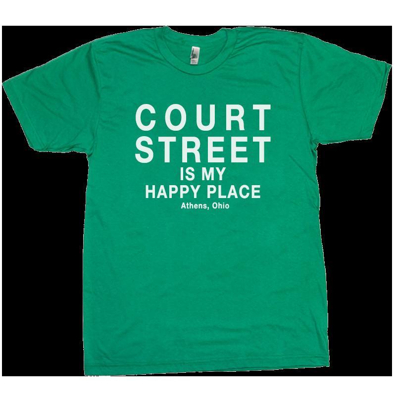 Court Street Athens Ohio T-Shirt