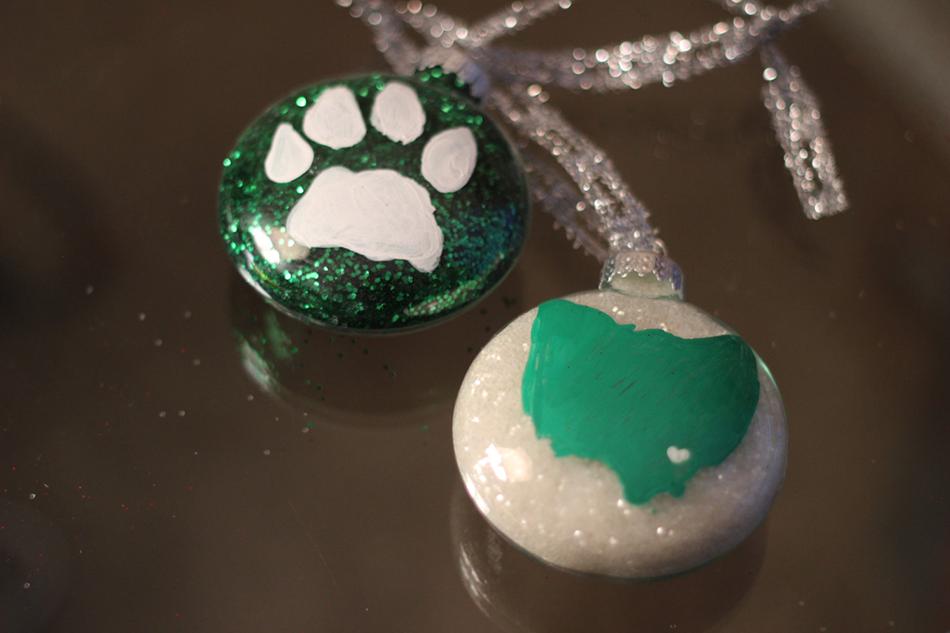 Athens/Ohio University Ornaments