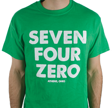SEVEN FOUR ZERO, Athen Ohio T-Shirt