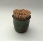 Toothpick keeper includes toothpicks.