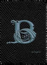 SEB - Dragon Letter - B