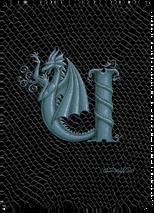 SEB - Dragon Letter - U