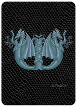 SEB - Dragon Letter - W