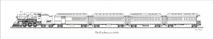PP Train - Pan American 1921 Black & White