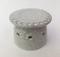 Biscuit cutter shown here in Snow glaze.