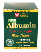 Vital Super Albumin Extra Strength 1500mg Gold *220 capsules