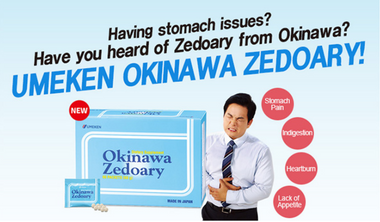 Umeken Okinawa Zedoary 오키나와 제도아리