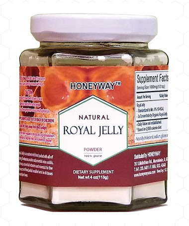 Honeyway Organic Royal Jelly Powder