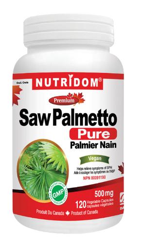 Nutridom Pure Saw Palmetto For Prostate