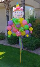 Magical Birthday Balloon Bouquet Pole