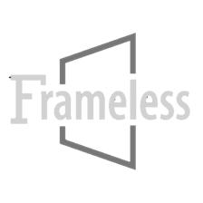 Sen962 Bromley Gs Frameless Square Rectangular Shower Enclosure With Shelves And Starcast Coating