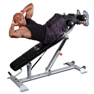 Body Solid ProClubLine Ab Bench  SAB500