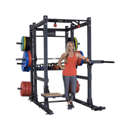 Body Solid SPR1000BackP4 Extended Power Rack Package