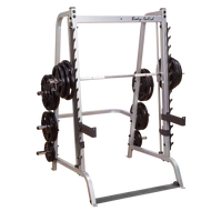 Body Solid Series 7 Smith Machine with 255 lb Rubber Olympic Plates