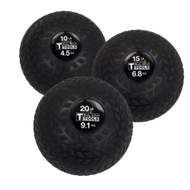 Body Solid Tire Tread Slam Balls Trio